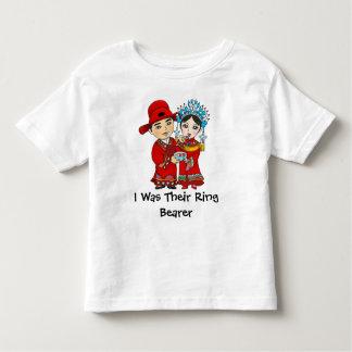 Eu era seu portador de anel… Tshirt da criança: