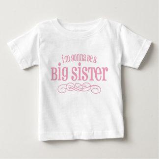 Eu estou indo ser uma irmã mais velha camiseta