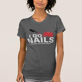 Eu faço as unhas (o técnico do prego) t-shirt