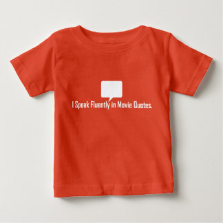 Eu falo fluente no T das citações do filme T-shirts