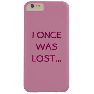 Eu fui perdido uma vez… Capa de telefone