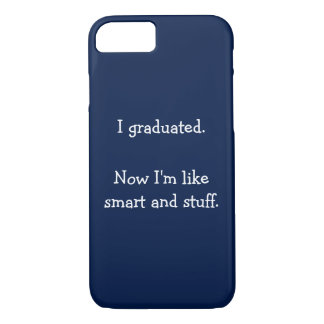 Eu graduei capas de iphone engraçadas do dia de