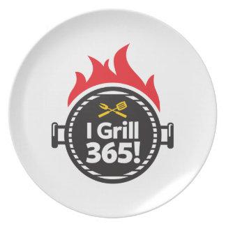 Eu grelho 365! pratos