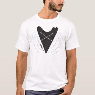 Eu Kayak, design preto do caiaque Tshirt
