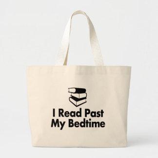 Eu li após meu bolsa das horas de dormir
