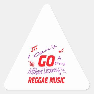 Eu não posso ir um dia sem escutar a música da adesivo triângulo