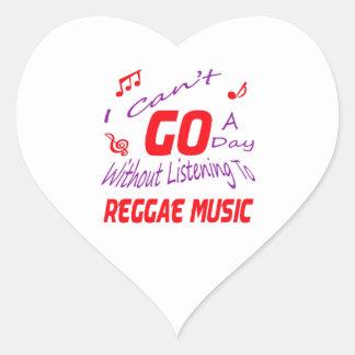 Eu não posso ir um dia sem escutar a música da adesivos em forma de corações