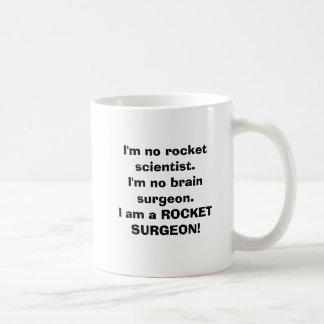 Eu não sou nenhum cientista do foguete. Eu não sou Caneca De Café