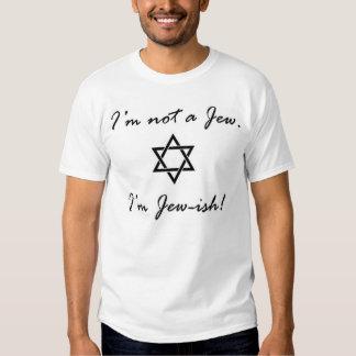 Eu não sou um judeu. camiseta