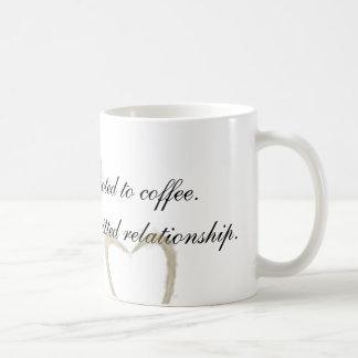 Eu não sou viciado caneca de café