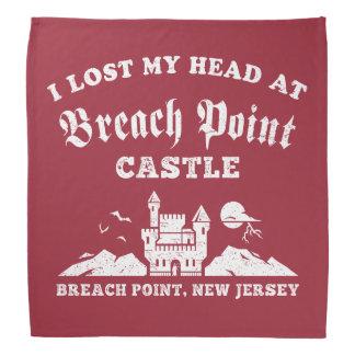 Eu perdi minha cabeça no castelo do ponto da pano para cabeça