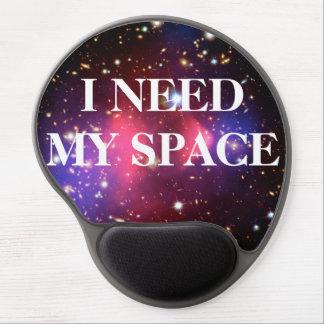 Eu preciso minha mouse pads do gel do espaço mouse pad em gel