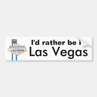 Eu preferencialmente estaria em Las Vegas Adesivo Para Carro