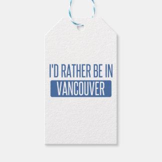 Eu preferencialmente estaria em Vancôver