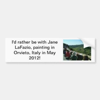 Eu preferencialmente estaria pintando em Italia…. Adesivo Para Carro