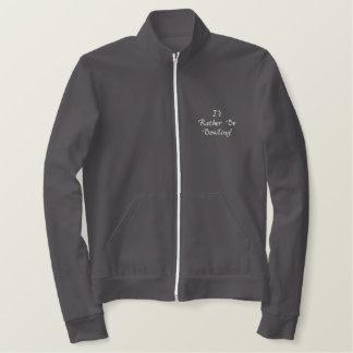 Eu preferencialmente seria jaqueta bordada
