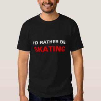 Eu PREFERENCIALMENTE SERIA, PATINANDO Camisetas