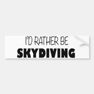 Eu preferencialmente seria Skydiving Adesivo Para Carro