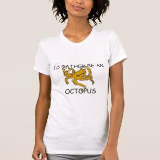 Eu preferencialmente seria um polvo t-shirt
