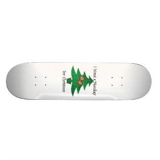 Eu quero um macaco para o Natal Shape De Skate 18,4cm