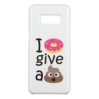 Eu rosquinha dou um emoji do tombadilho capa Case-Mate samsung galaxy s8