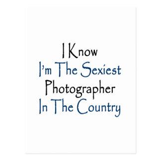 """Eu sei que eu sou o fotógrafo o mais """"sexy"""" no cartão postal"""
