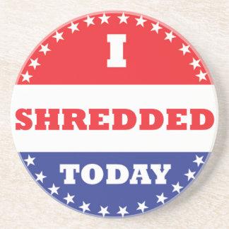 Eu Shredded hoje Porta-copos