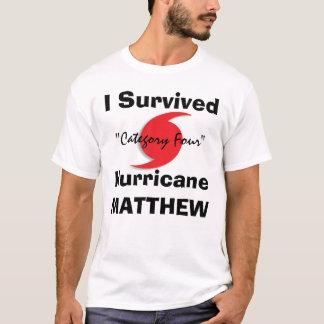Eu sobrevivi a MATTHEW Camiseta