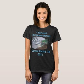 Eu sobrevivi ao furacão Harvey 2017 (Corpus T-shirt