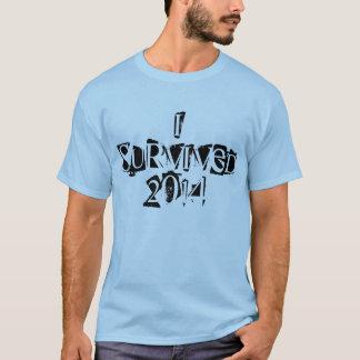 Eu sobrevivi ao tshirt 2014 para homens