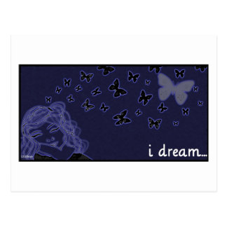 Eu sonho… cartão postal