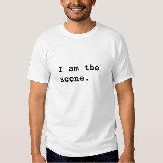 Eu sou a cena t-shirt