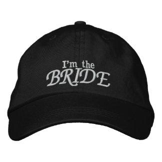 Eu sou a noiva! chapéu bordado boné bordado