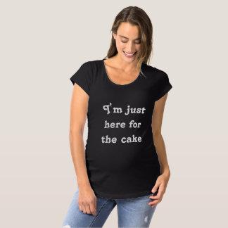 Eu sou apenas aqui para a camisa do bolo