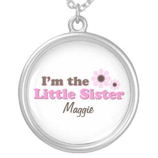 Eu sou as flores da modificação da irmã mais nova colar banhado a prata