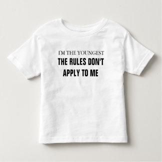 Eu sou as regras as mais novas não me aplico me t-shirts