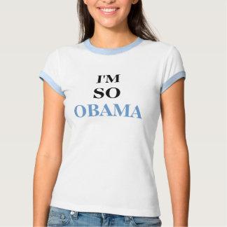 Eu sou assim Obama Camisetas