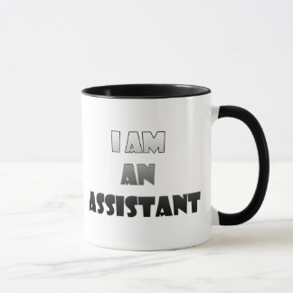 Eu sou assistente caneca