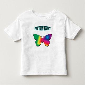 Eu sou camisa personalizada Kewt da criança de Tew