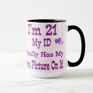 Eu sou caneca de 21 identificações