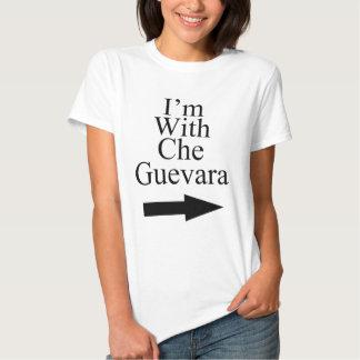 Eu sou com t-shirt de Che Guevara