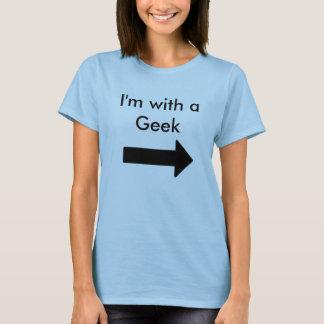 Eu sou com um geek t-shirts