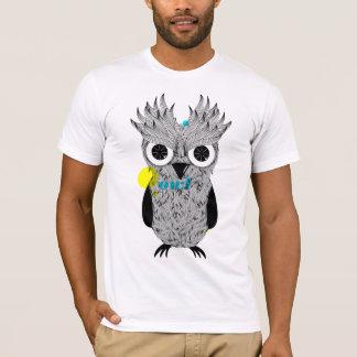 Eu sou coruja camiseta