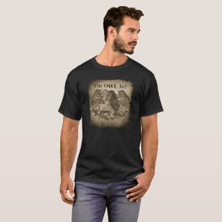 """""""Eu sou coruja em """" Camiseta"""