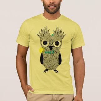 Eu sou coruja tshirts