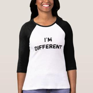 Eu sou diferente tshirts