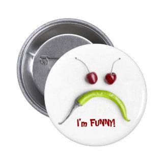 Eu sou engraçado! botons