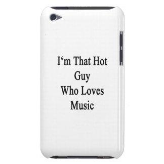 Eu sou essa cara quente que ama a música capas iPod touch