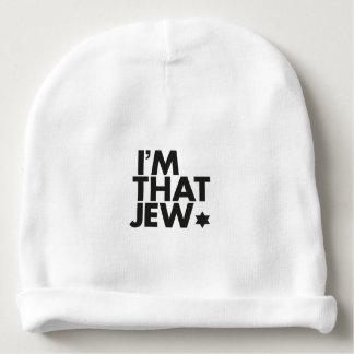Eu sou esse Beanie do bebê do judeu Gorro Para Bebê