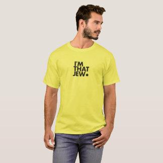 Eu sou esse t-shirt dos homens do judeu